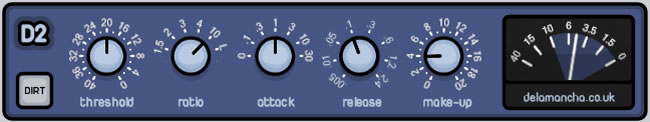 D2 Free Compressor VST Plugin