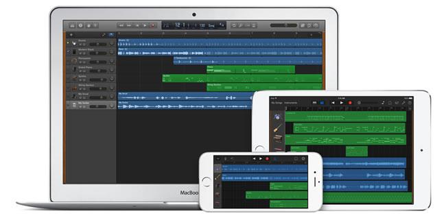 Apple Garageband Music Software