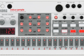 Volca Sample Sequencer Announced by Korg