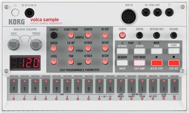 Korg Volca Sample Sequencer