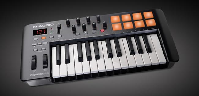 M-Audio Oxygen MIDI Keyboard Controllers