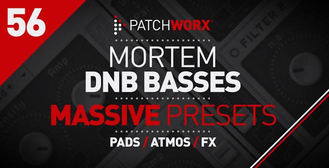 Mortem DnB Bass Massive Presets Pack