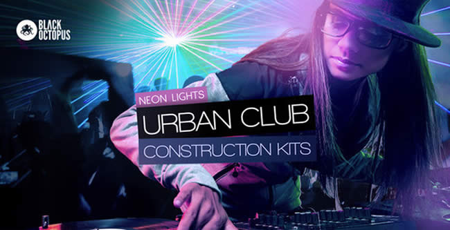 Neon Lights - Urban Club Construction Kits by Black Octopus