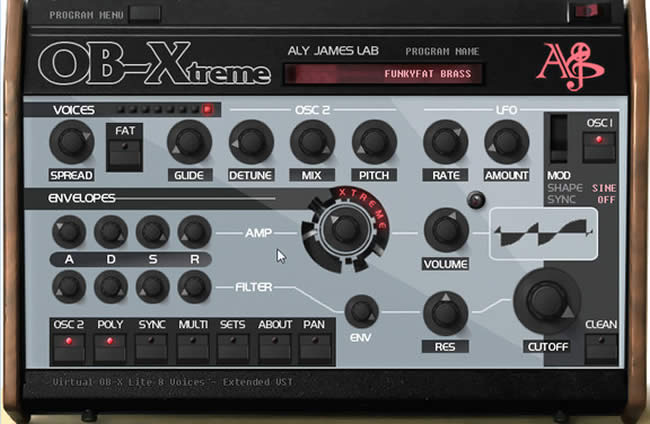 OB-Xtreme Synth VST Plugin