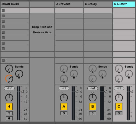 Parallel Compression in Ableton