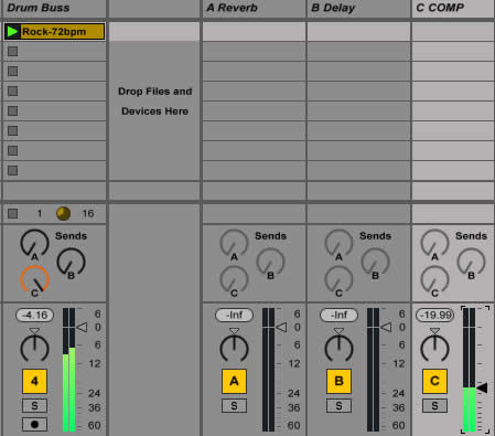 Ableton Mixing Tutorial Parallel Compression