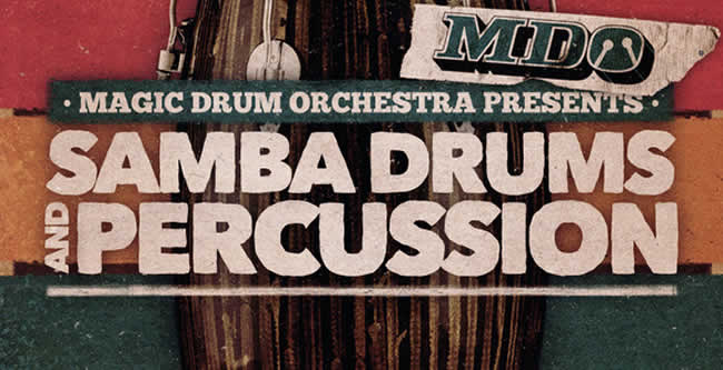 Samba Drums and Percussion Samples