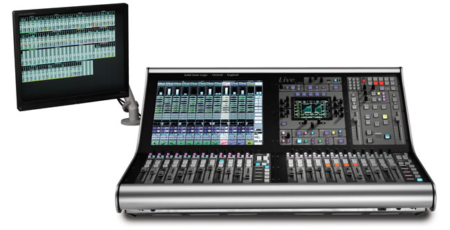 Live L300 Digital Console by SSL