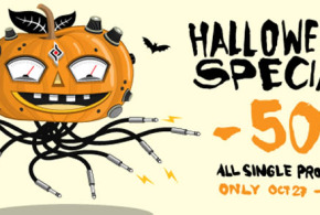 Halloween Special 50% OFF For Sugar Bytes Plugins