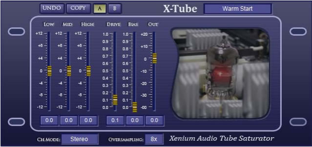 X-Tube Free Saturation VST Plugin