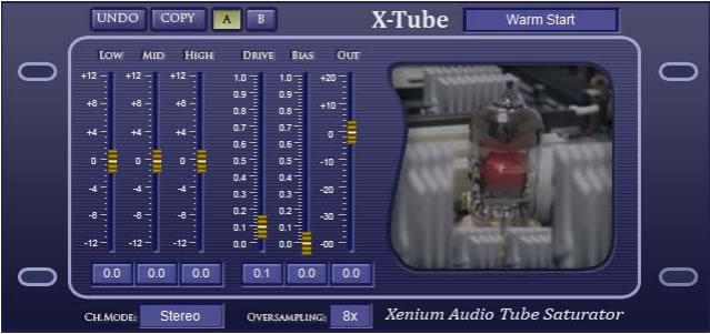 X-Tube Free Saturation VST Plugin