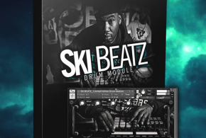 Ski Beatz Limited Edition Drum Module by The Producers Choice