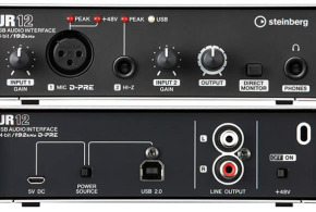 UR12 Audio Interface Announced by Steinberg