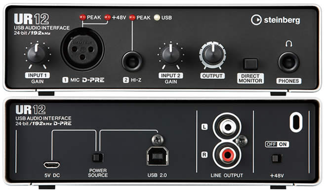 UR12 Audio Interface