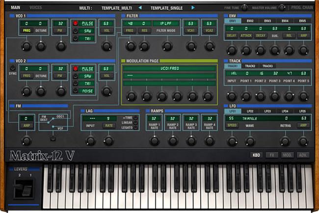Matrix-12 V VST Synth