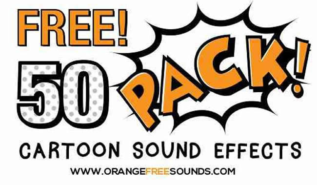 Cartoon Sound Effects Pack By Orange Free Sounds