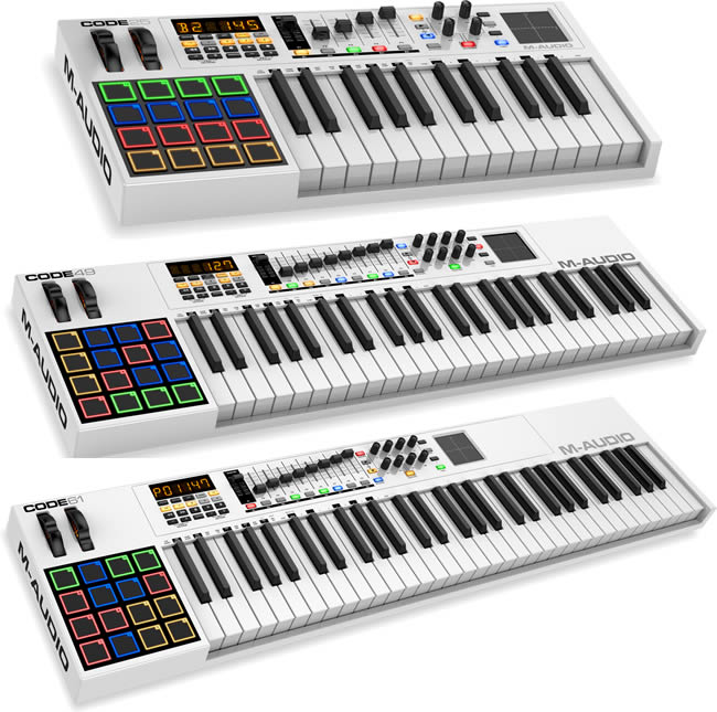 M-Audio Code Series MIDI Keyboads