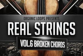 Real Strings Vol 6 – Broken Chords Sample Pack by Organic Loops