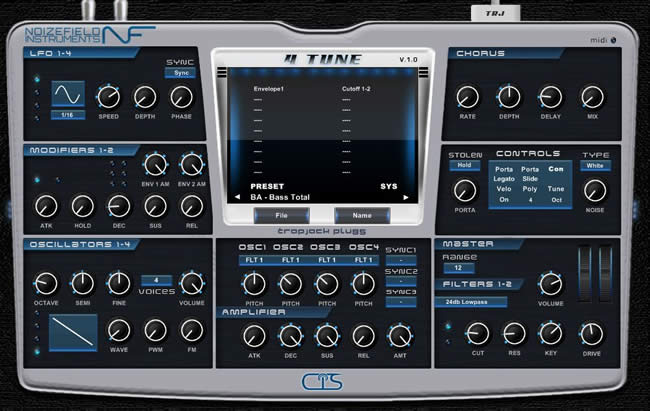4 Tune Free VST Synth