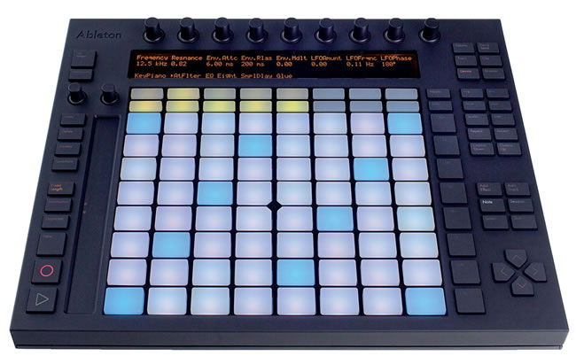 how to draw notes on midi clip ableton