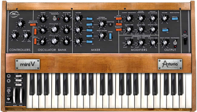 Review: Arturia Mini V2 Vintage Synth Plugin