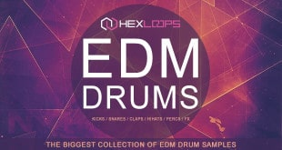 Hex Loops EDM Drum Kits