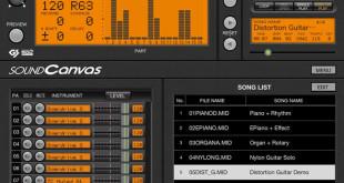 Roland Sound Canvas iOS App