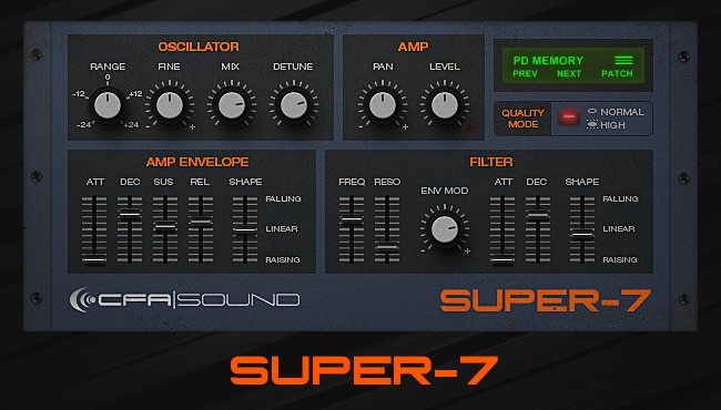 Free Supersaw VST Synth
