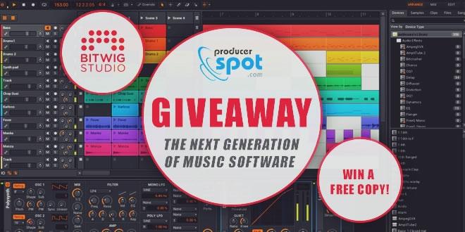 Bitwig Studio Giveaway - Win A Free Copy