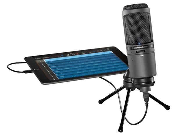 AT2020 USBi iOS Microphone