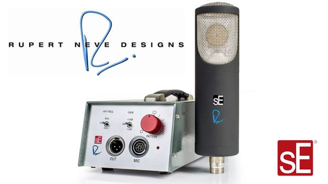 RNT Microphone by sE and Rupert Neve