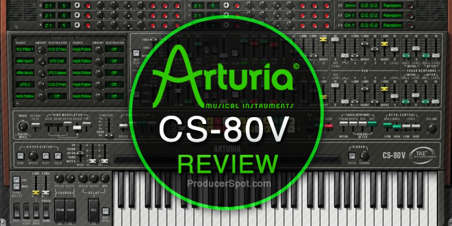 piano virtuel - yamaha arturia cs 80v