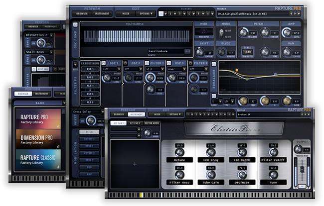 Rapture Pro Synth Plugin