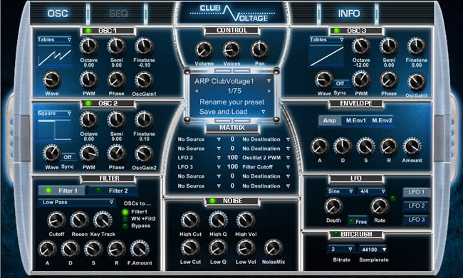 Club Voltage Free Synth