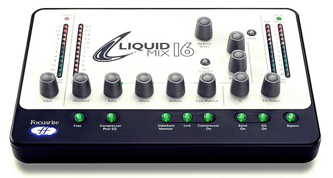 Focusrite Liquid Mix Gear Review