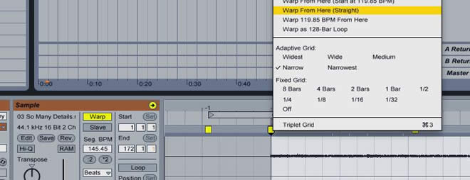 Ableton Live Sampling Tutorial