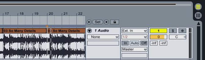 How to sample in Ableton Live