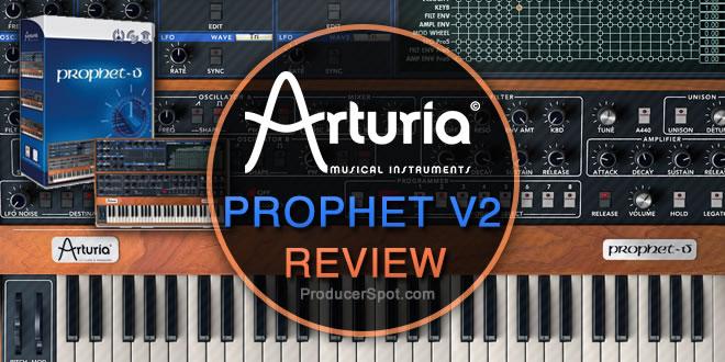 Arturia Prophet V2 Review