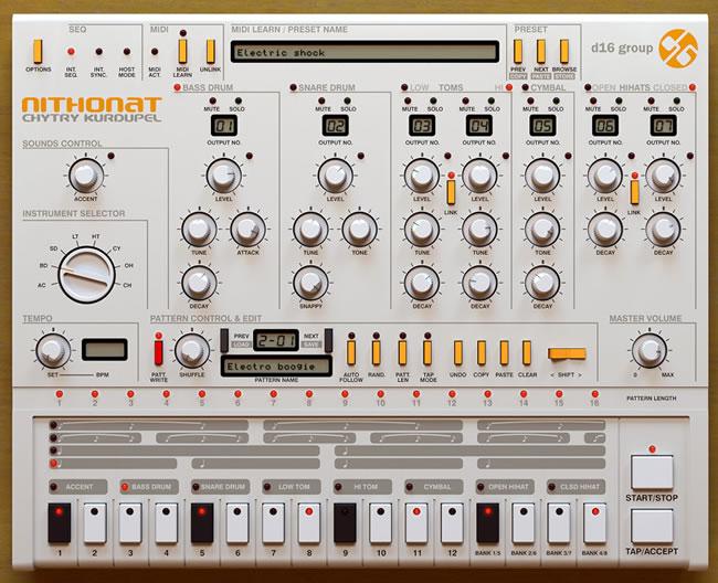 606 Drum VST Plugin