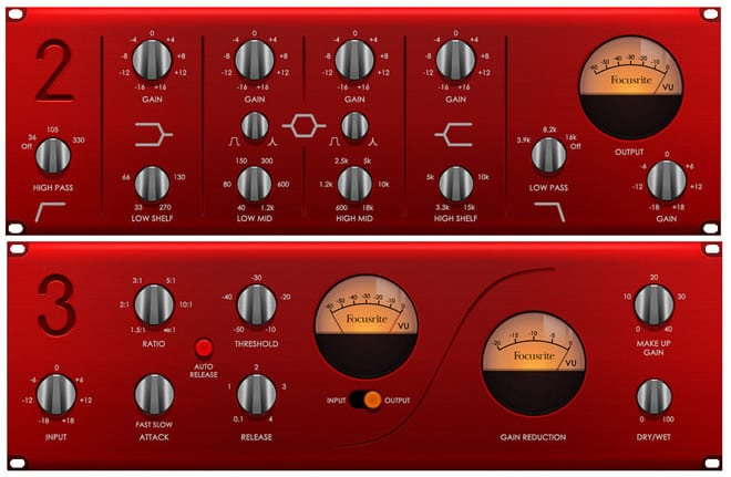 Red Plug-in Suite Review by Focusrite