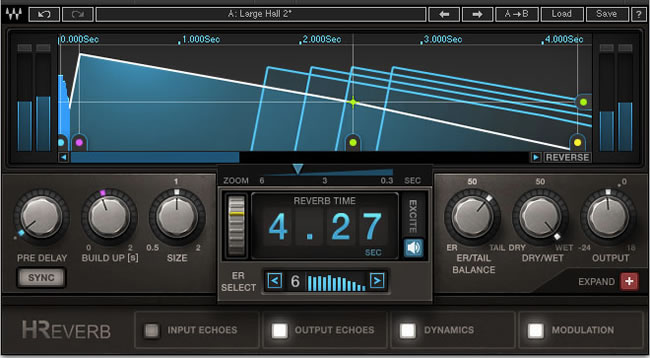 H-Reverb Hybrid Reverb Plugin by Waves • ProducerSpot
