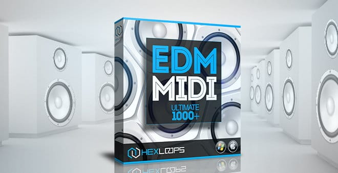 EDM MIDI Ultimate 1000+ Pack by Hex Loops