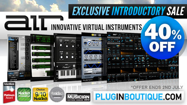40 off introductory sale on air plugins at plugin boutique. Black Bedroom Furniture Sets. Home Design Ideas