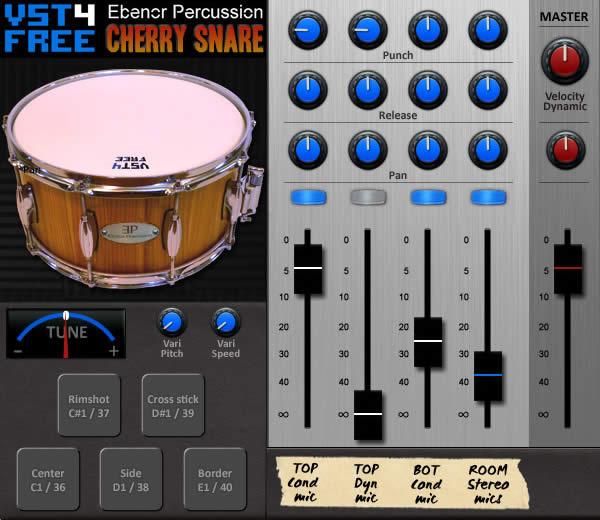 Cherry Snare Free VST Plugin