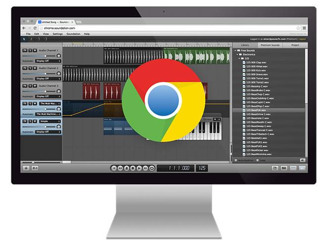 Soundation Chrome Studio