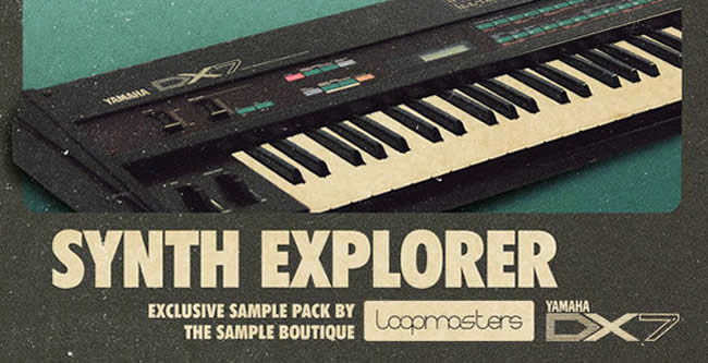 synth explorer yamaha dx7 sample pack by loopmasters. Black Bedroom Furniture Sets. Home Design Ideas
