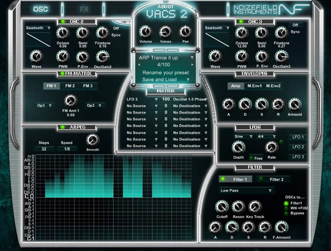 VACS2 Free VST Synth Plugin