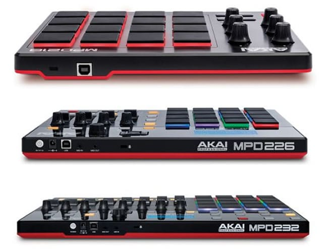 MPD Pad Controllers by AKAI