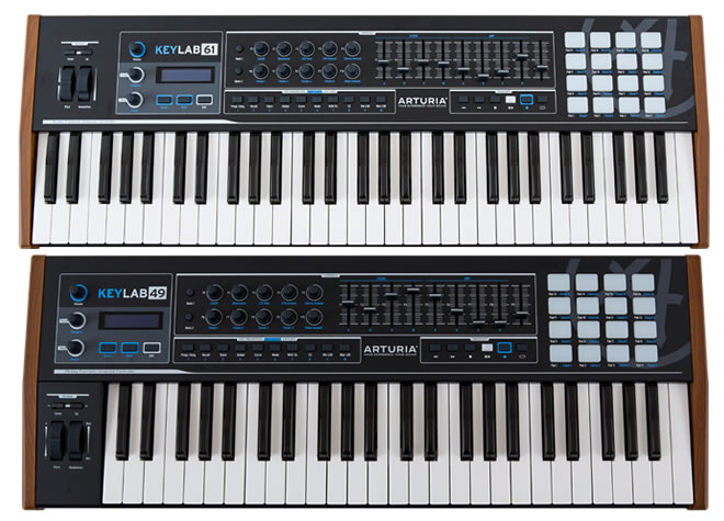 Arturia KeyLab 49 and 61 Limited Black Edition