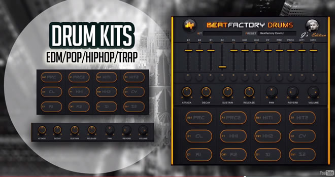 BeatFactory Drums Free Plugin by BeatSkillz